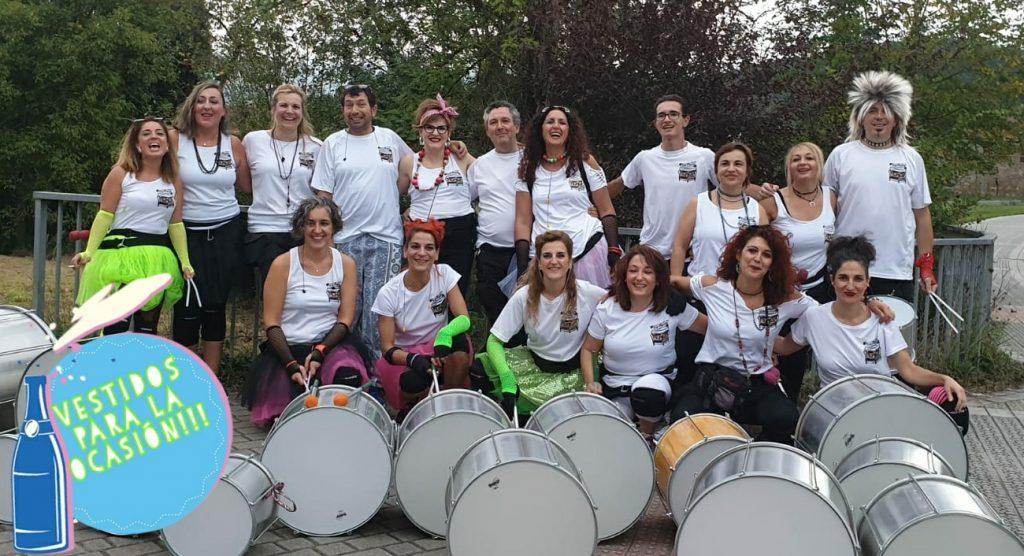 Batukada Battuere - Fiestas de Bañueta 2019 - Amurrio