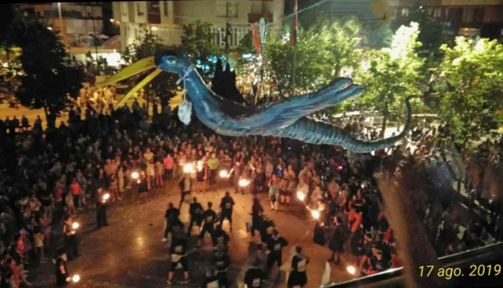 Batukada Battuere - Fiestas de Amurrio - Subida iguarrako