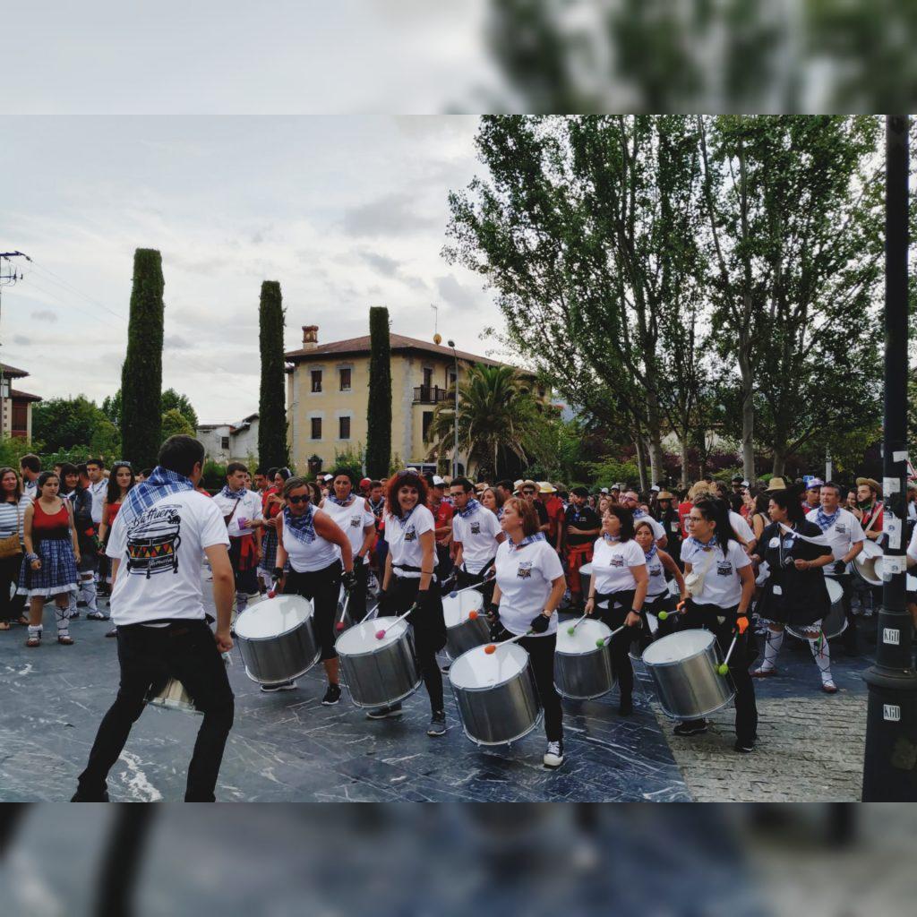 Batukada Battuere - Fiestas de Amurrio 2019 - Txupinazo