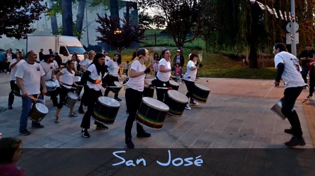 batukada battuere - fiestas san jose 2019 amurrio - de noche
